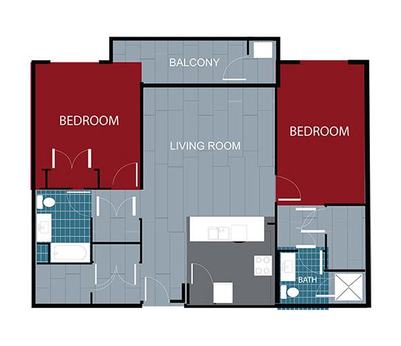Station House Somerville apartment 211