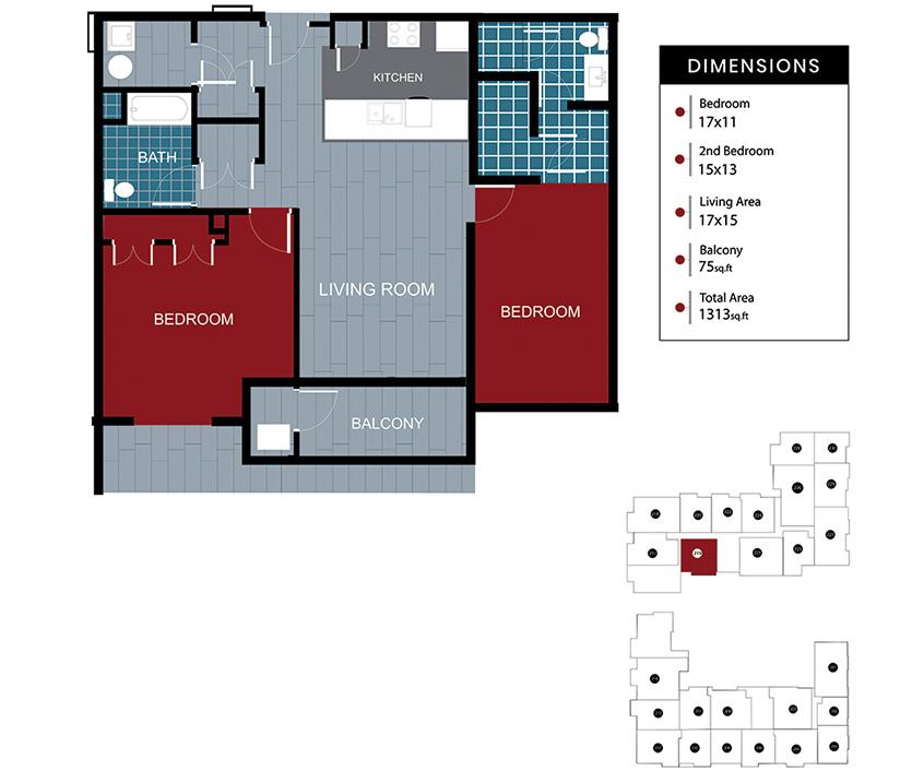 Station House Somerville apartment 219