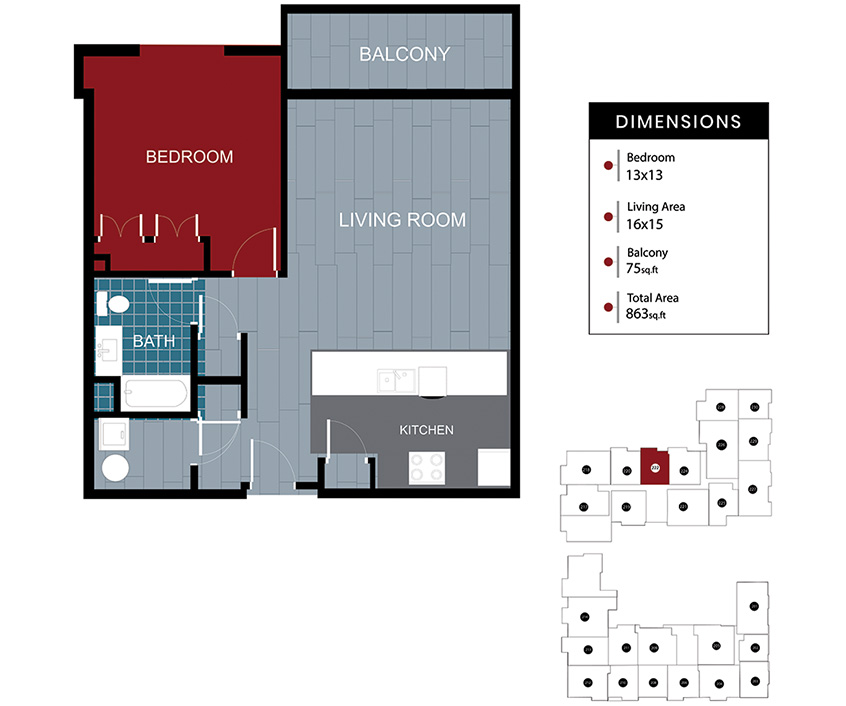 Station House Somerville apartment 222