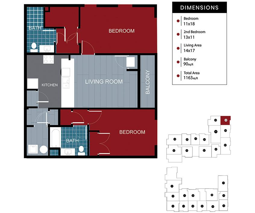 Station House Somerville apartment 230