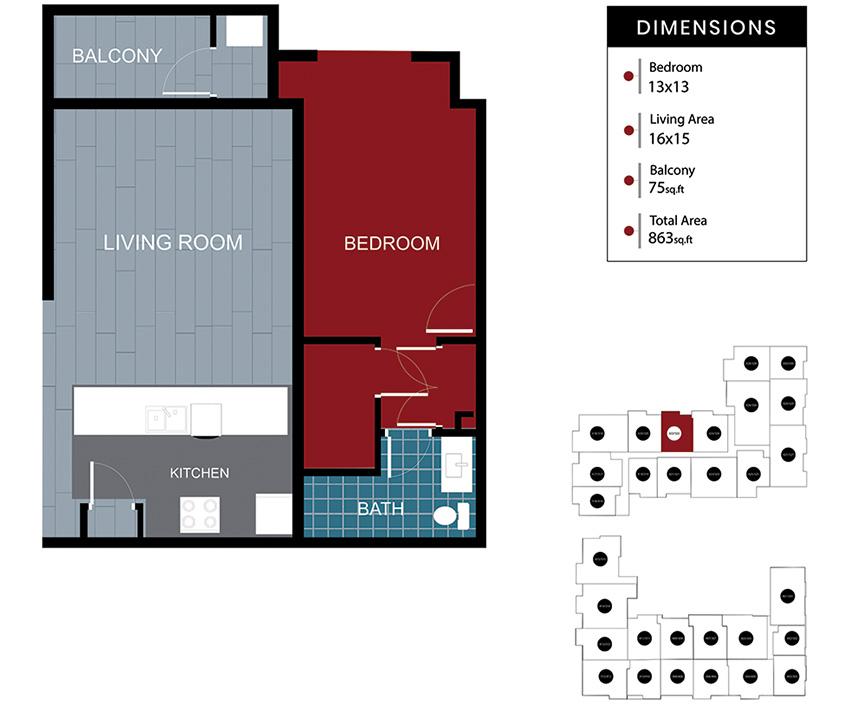 Station House Somerville apartment 322-422