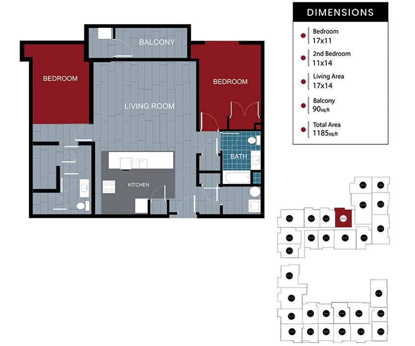 Station House Somerville apartment 324-424