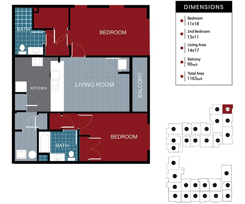 Station House Somerville apartment 330-430