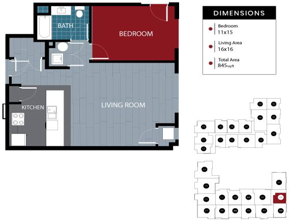 Station House Somerville apartment 502