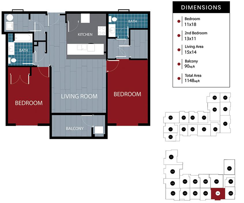 Station House Somerville apartment 504